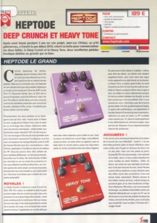 Guitare Extreme - Heptode Deep Crunch and Heavy Tone