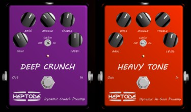 vst plug ins heptode guitar effects pedals amps. Black Bedroom Furniture Sets. Home Design Ideas